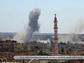 Provokácia s chemickým útokom v Sýrii. Riskne Západ mohutný útok, alebo nie?