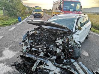 Vážna nehoda na ceste smrti: FOTO Čelná zrážka, Juraj zaspal za volantom