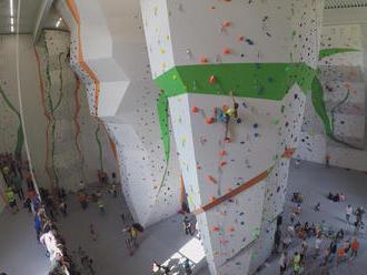 Slovensko sa môže pochváliť lezeckou stenou svetovej úrovne. Trénuje na nej aj naša olympijská nádej