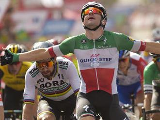 Sagan skončil v záverečnej etape Vuelty na 2. mieste