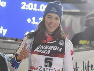 Vlhová trénovala štyri dni obrovský slalom a v Kronplatzi nebude chýbať