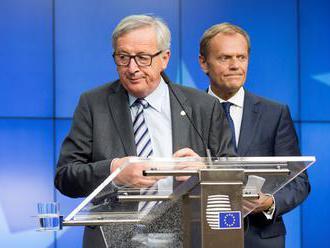 """Juncker a Tusk zaslali Mayovej list so zárukami podporujúcimi """"rozvodovú"""" dohodu"""