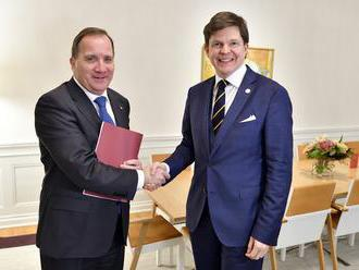 Švédsky parlament má o vyslovení dôvery novému premiérovi hlasovať až v piatok