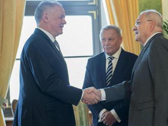 Prezidenti sa zišli na obede, Gašparovič sa pýtal Kisku na voľbu ústavných sudcov