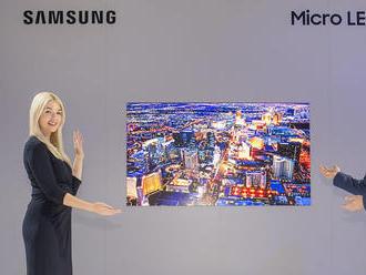 Namiesto OLED Samsung predstavil modulárny Micro LED televízor