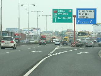 Dnes to začne: Pre výstavbu D4 a R7 pribudnú dopravné obmedzenia v Bratislave