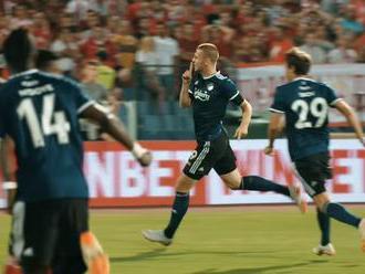 Exportná bomba spoza šestnástky. Denis Vavro strelil v drese Kodane najkrajší gól roka