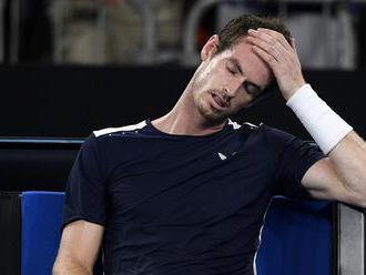 Posledný zápas kariéry? Andy Murray skončil na Australian Open po päťsetovej bitke