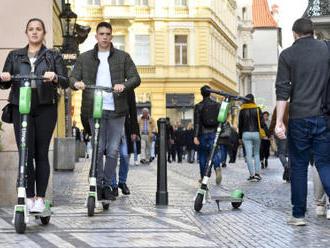 Praha vypoví memorandum s provozovatelem elektrokoloběžek