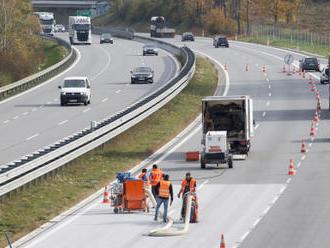 ŘSD dočišťuje D1 na Benešovsku po nehodě, na jaře ji opraví