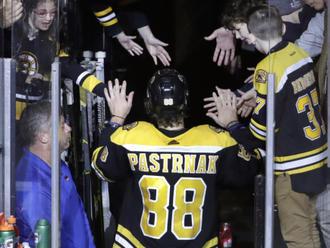 Pastrňák je díky sedmi gólům hvězdou týdne v NHL