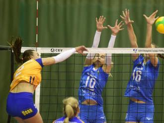Volejbalistky Olomouce prohrály v boji o Ligu mistryň s Chimikem