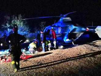 Náročný večerní zásah při záchraně horolezce vlomu Mexiko si vyžádal nasazení lezecké skupiny