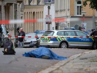 Po streľbe pred synagógou v Halle i na iných miestach sú dvaja mŕtvi