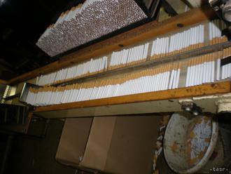VIDEO: Finančná správa odhalila nelegálnu výrobňu cigariet