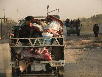 Nové násilie v Sýrii vyhnalo z domovov vyše 100.000 ľudí