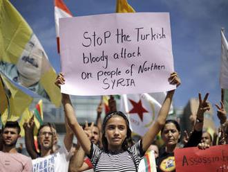 Európania protestovali proti tureckej ofenzíve v Sýrii