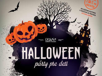 Halloween párty pre deti 2019