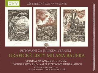 Putování za Julesem Vernem - Milan Bauer