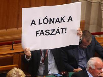 Óriási felháborodást keltett, hogy Hadházy trágár szöveget mutatott fel a parlamentben