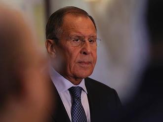 Sergej Lavrov pricestoval na návštevu Iraku