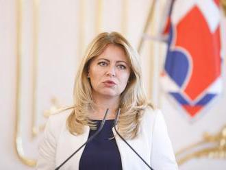 Zuzana Čaputová chce uzavrieť dlho neriešenú otázku bývania hlavy štátu