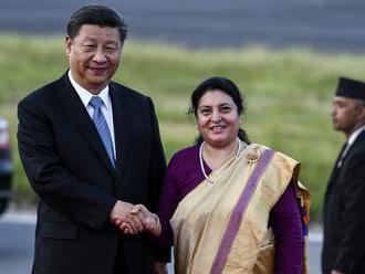 Si navštívil Nepál ako prvý čínsky prezident po dvoch desaťročiach