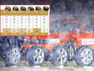 Jediný český test zimních pneu srovnal několik typů obutí pro Octavii a spol.