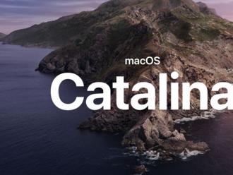 macOS Catalina je tu!