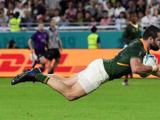 66:7. Juhoafričania zvalcovali Kanaďanov a sú vo štvrťfinále