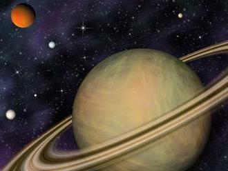 Saturn predbehol Jupiter, má najviac mesiacov