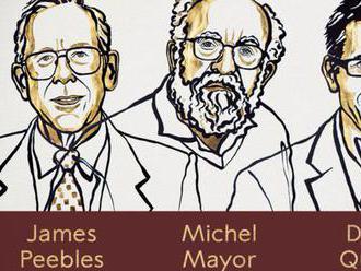 Nobelovu cenu za fyziku získali vedci skúmajúci evolúciu vesmíru