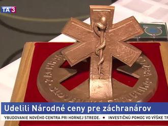 Záchranárom udelili Národné ceny Záchrannej zdravotnej služby
