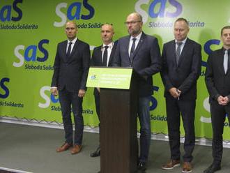 Demokratické jadro opúšťa SaS: VIDEO Za tri mesiace sa kolektívne pomiatli, odkázal im Sulík