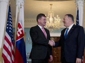 Lajčák sa v USA stretol s Pompeom: Pozval ho na zasadnutie OBSE do Bratislavy