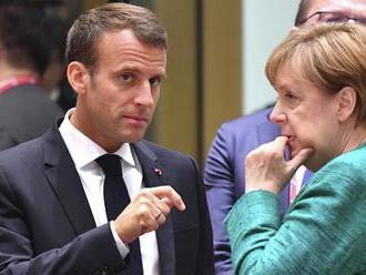 Macron a Merkelová žiadajú ukončiť tureckú ofenzívu v Sýrii