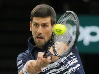 Tenista Djokovič usiluje na Masters o šestý titul a post jedničky