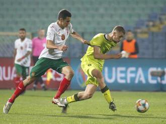 Češi s jistotou postupu prohráli na závěr kvalifikace v Bulharsku