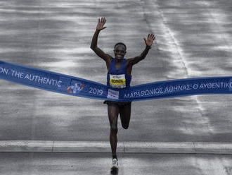 Aténsky maratón ovládol 42-ročný John K. Komen z Kene