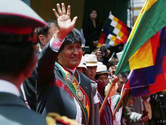 Bolívijský prezident Evo Morales súhlasí s novými voľbami
