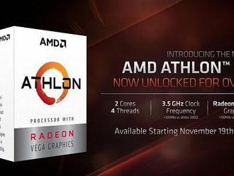 AMD uvedla Athlon 3000G, superlevné 14nm 35W APU s architekturami Zen   Vega