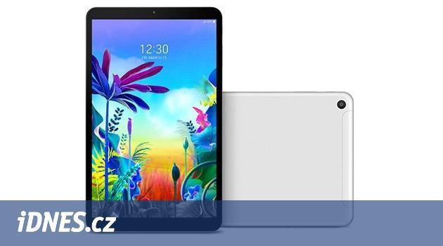 Desetipalcový LG G Pad 5 je nový tablet se starým železem