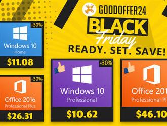 Black Friday u GoodOffer24: extra 30% slevy na veškerý software