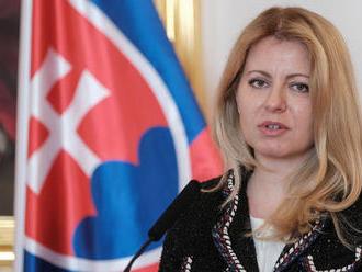 Prezidentka odovzdala piatim veľvyslancom SR poverovacie listiny