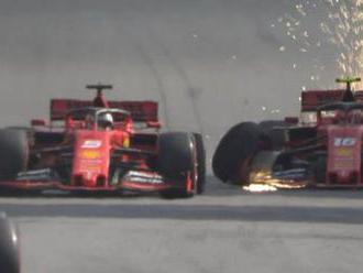 Brazílske šialenstvo pre Verstappena. Ferrari zažilo pohromu