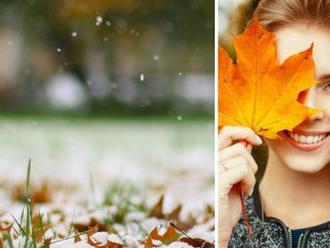 Dáva nám jeseň zbohom? PREDPOVEĎ na ďalší týždeň, v pondelok poriadne zaprší a očakáva sa prvý sneh