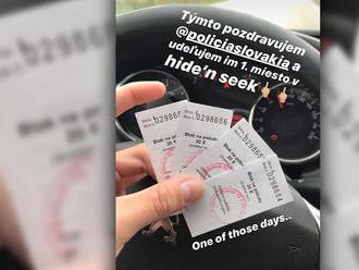 Usvedčila ho fotka na Instagrame: Drzý mladý vodič chcel vysmiať policajtov, karta sa obrátila