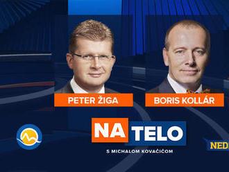 Sledujte NAŽIVO: Hosťami Na telo sú Boris Kollár a Peter Žiga