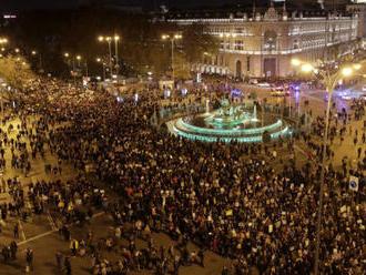 Madridem prošel pochod za lepší boj proti globálnímu oteplování