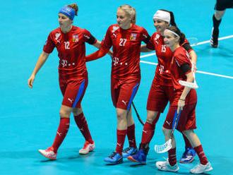 Florbalistky rozdrtily na MS Slovensko 19:3 a jsou ve čtvrtfinále